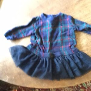 Infant girls holiday dress